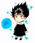 Hiei Chibi-colored