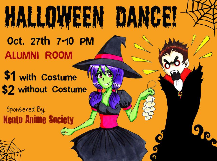 Halloween Dance Poster by Maki123 on DeviantArt