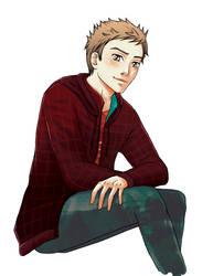Video Game boy by Reenaka