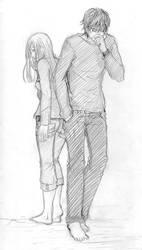 Couple in love by Reenaka