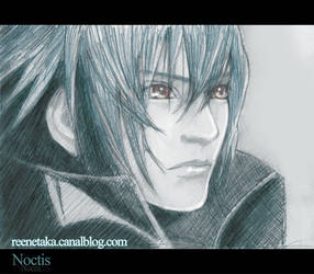 Noctis - Final Fantasy by Reenaka