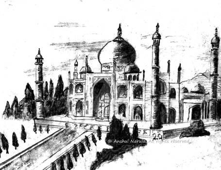 The Taj Mahal (Edited)