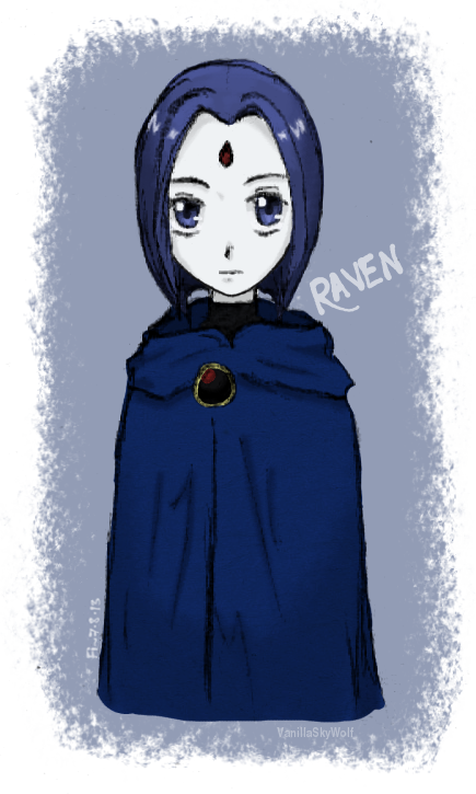 Raven by VanillaSkyWolf