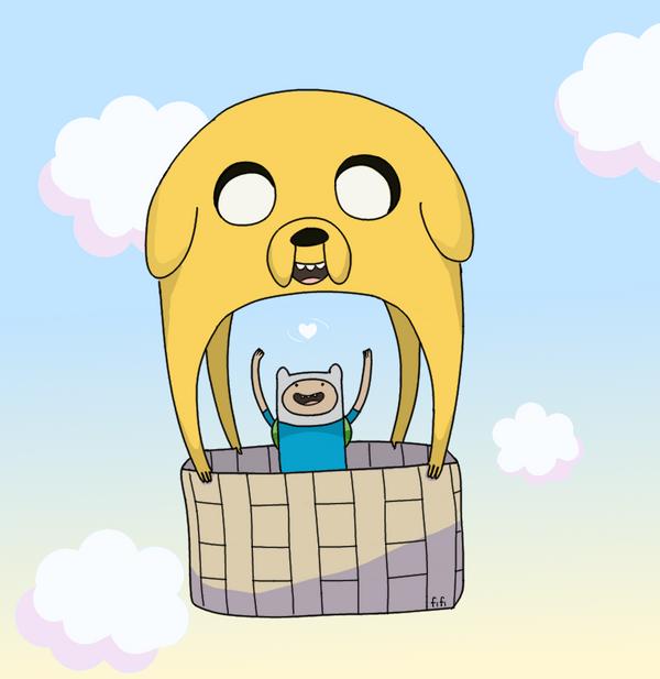 Jake Air Balloon by VanillaSkyWolf