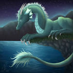Water Dragon by Cinnoroll