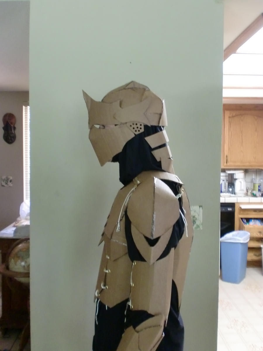 cardboard armour template - cardboard armor proto left by ourobouros434 on deviantart