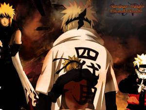 Dad and Son: Yondaime x Naruto