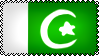 Flag of Pakistan Stamp by AyeshaRehman101