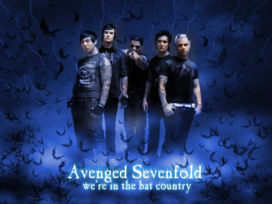 A7X Wallpaper 3 Were In A Bat Country By My Mental Fiction On DeviantArt
