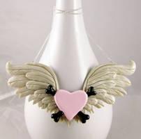 XL Toxic Angel Necklace by NeverlandJewelry