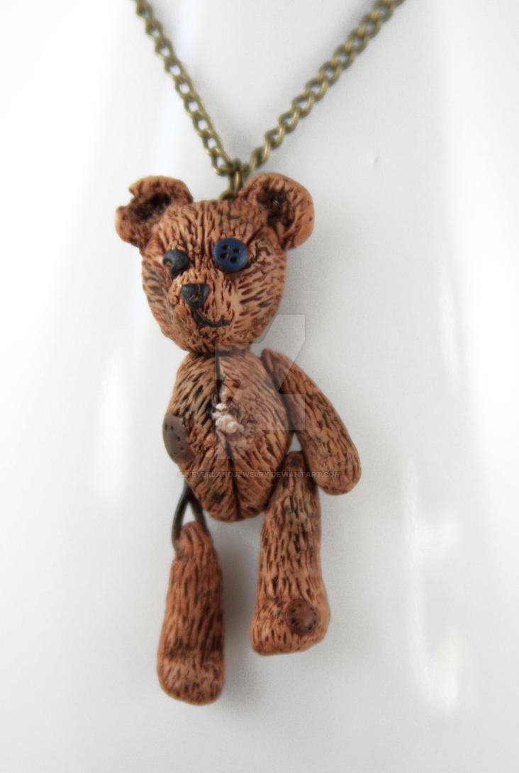 Beloved Teddy.... Necklace by NeverlandJewelry
