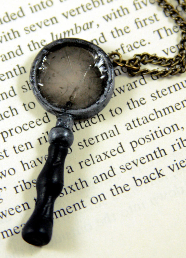 Broken Magnifying Glass by NeverlandJewelry