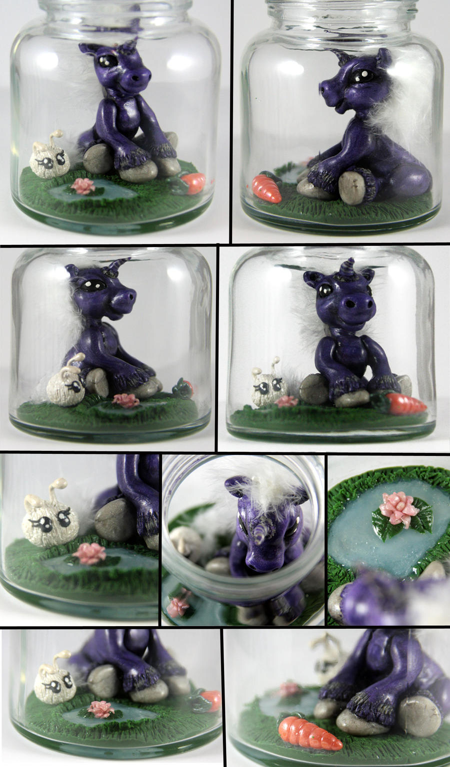 My Pet Unicorn WIP by NeverlandJewelry