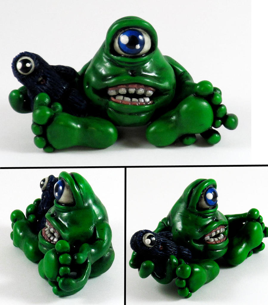 My Pet Monster WIP by NeverlandJewelry