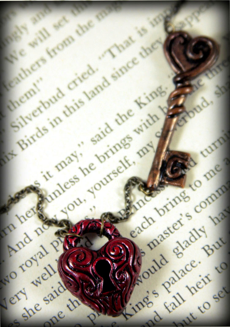 My Heart's Lock and Key by NeverlandJewelry