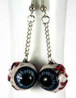 Crossed Eyes Earrings by NeverlandJewelry