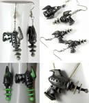 Alien Repellent Earrings