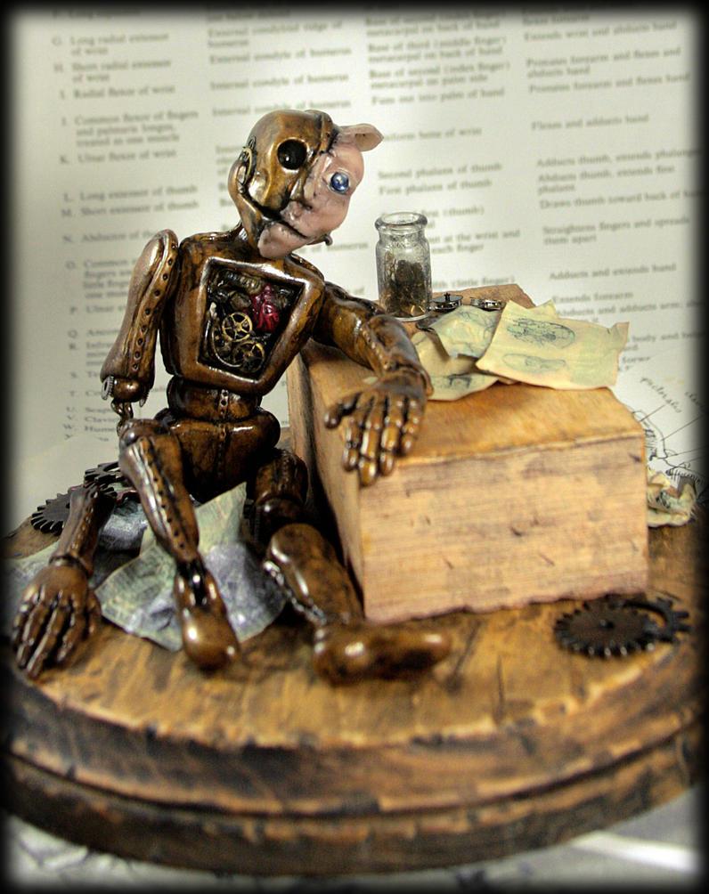 Automaton Soulless Man by NeverlandJewelry