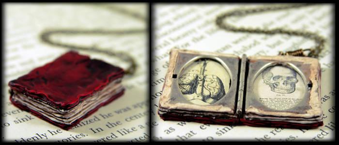 Beloved Book Locket Necklace