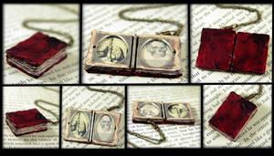 Bloved Book Locket Detail
