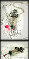 Antique Syringe Necklace