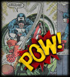 Comic Book POW! Necklace