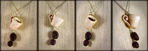 Mmmm... Coffee Lovers Necklace