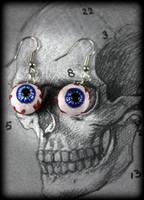 Eyeball  Earrings by NeverlandJewelry