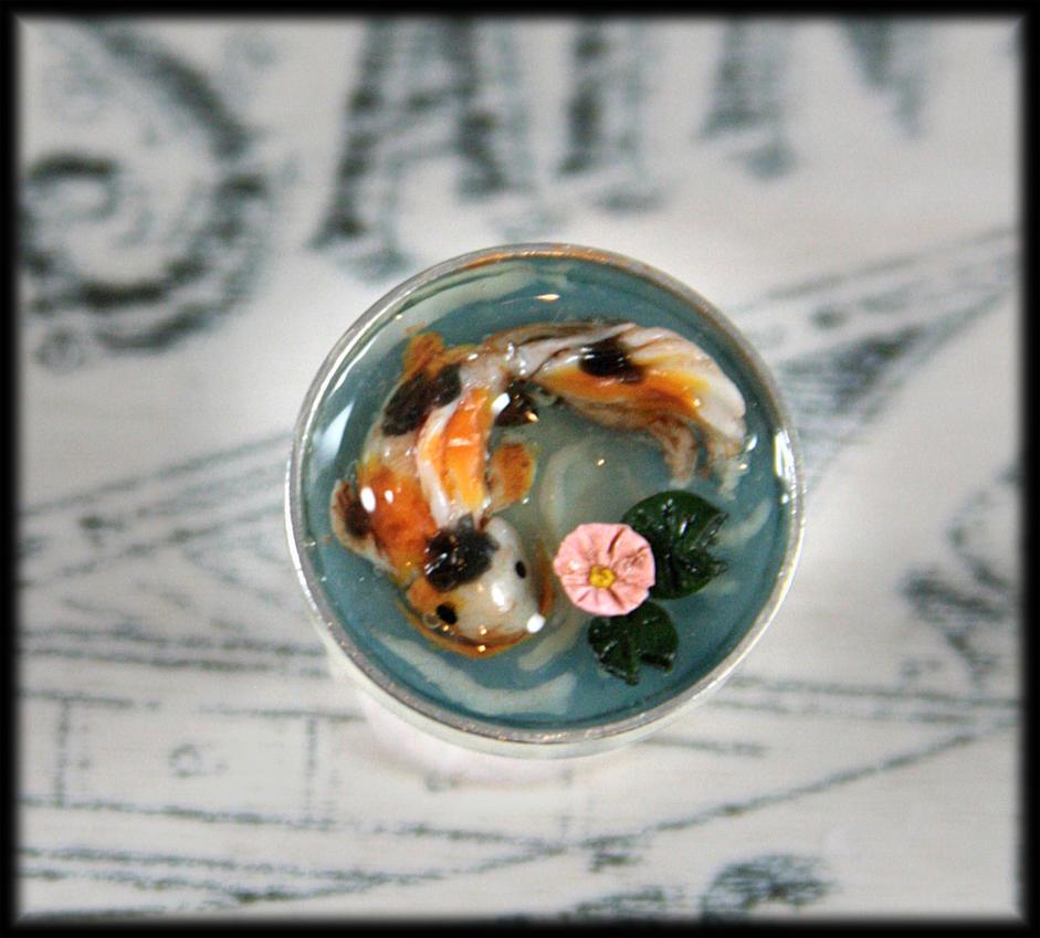 Koi Pond Ring by NeverlandJewelry