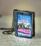 Alice's Adventures in Wonderland Book Necklace