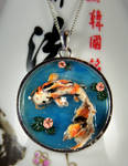 Large Koi Pond Necklace