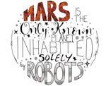 Mars Digital Typography