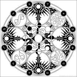 Yuuko's Magic Circle by shinigami3