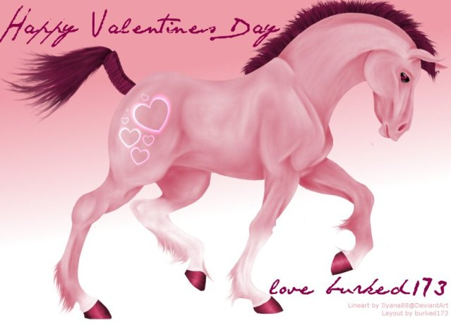 Valentine Horse By Burked173 ...
