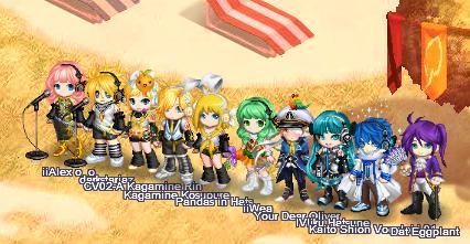 Vocaloid Gaia Rainbow by XxBloodxLovexX