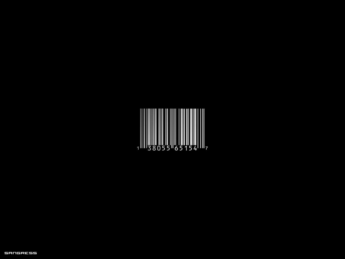 Fondos de Escritorio Barcode_by_Sangress
