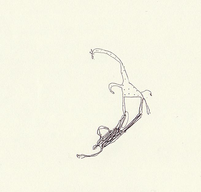 How giraffe make human shadow2 by lillgroda