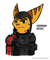 Commander Ratchet by Kurai-Lombax