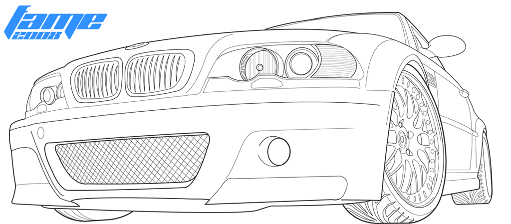 BMW E46 M3 by Hard-Won-Fame on DeviantArt