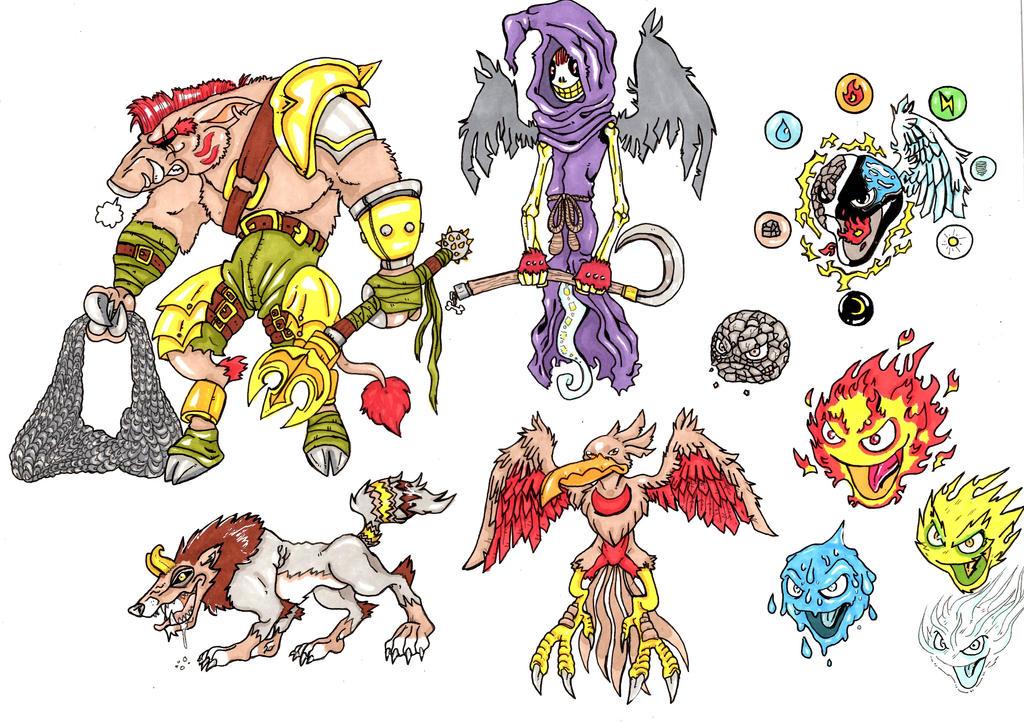 Monsters by sonkkuli