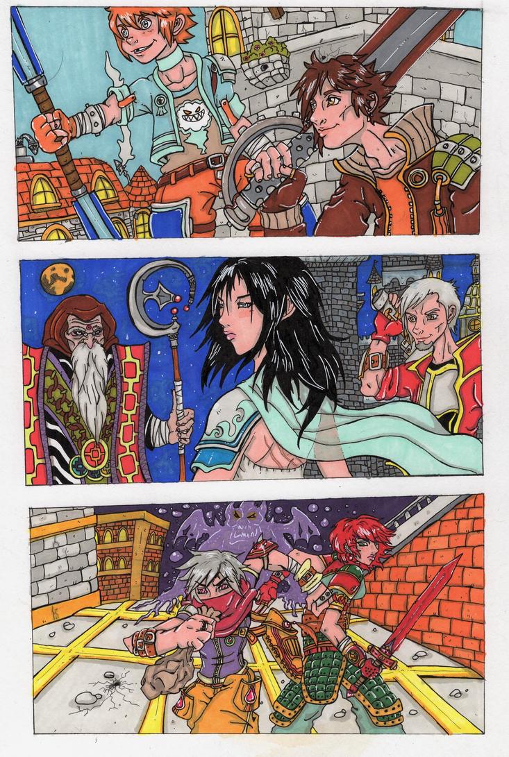 Knight time by sonkkuli