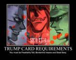 Hellsing Trumpcard Requirement
