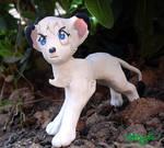 Kimba, the white lion