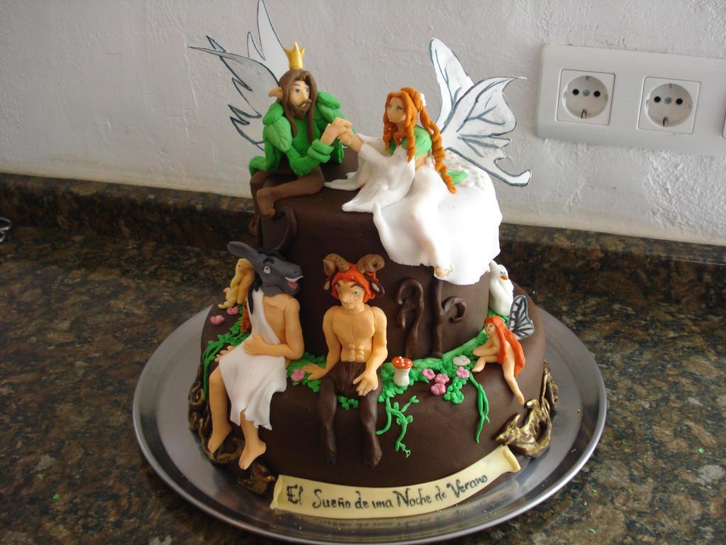 Midsummer Night's Dream cake