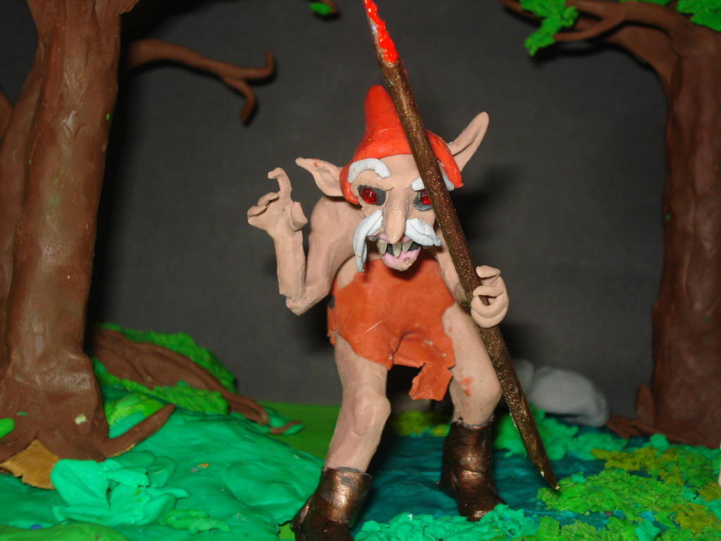 The Redcap (claymation) by Xiakeyra