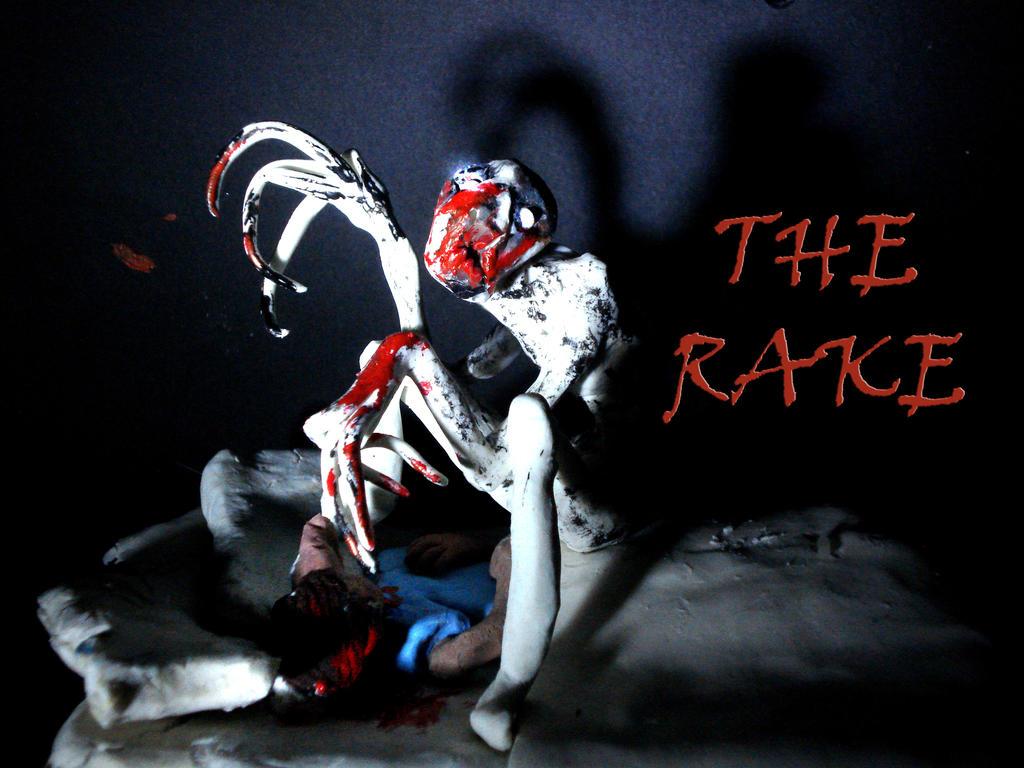 Creepypasta The Rake clay animation by Xiakeyra