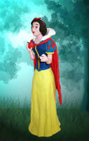 Snow White by Xiakeyra