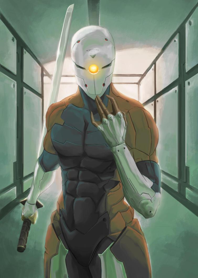 Cyborg Ninja by MeisterG on DeviantArt