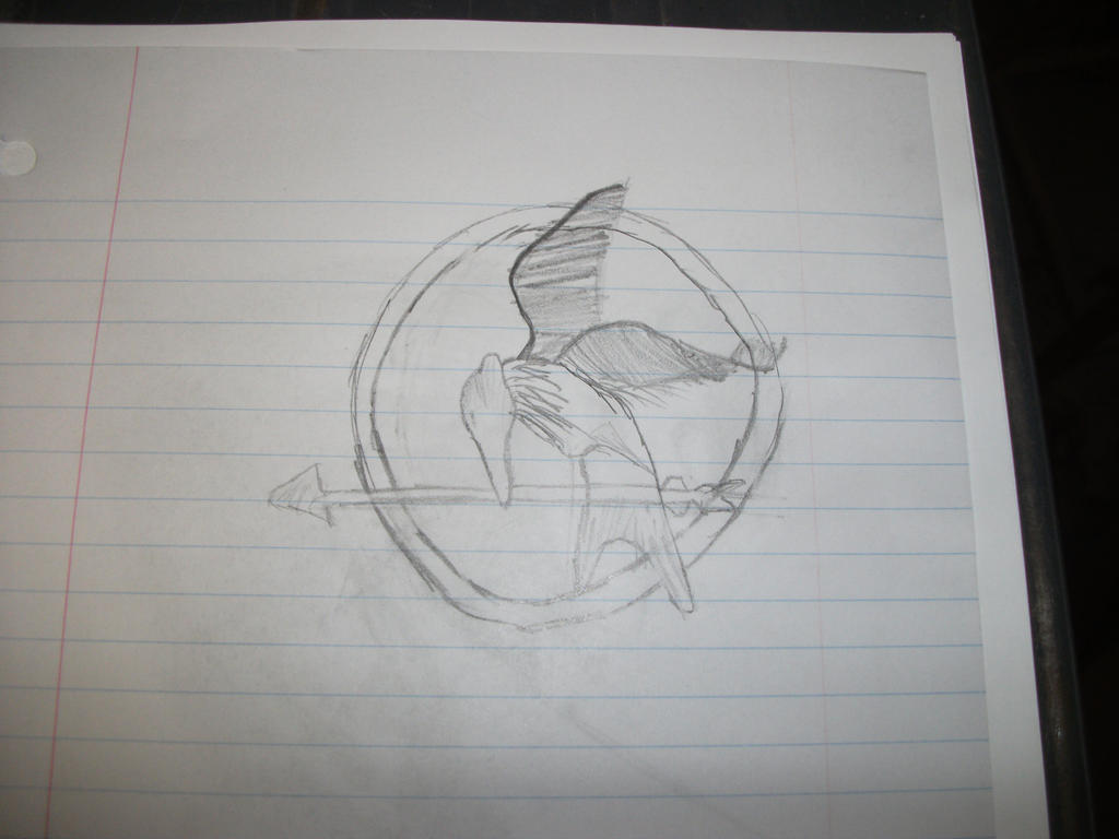 Mockingjay pin by jalden