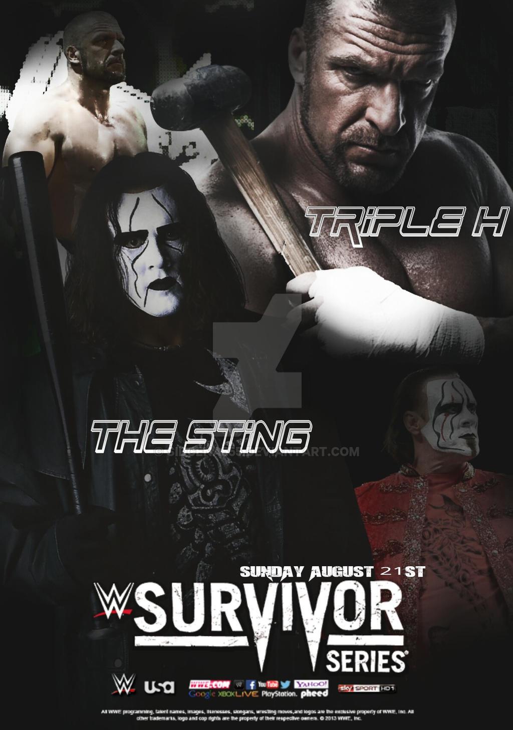 Custom WWE Survivor Series Poster by SidCena555 on DeviantArt